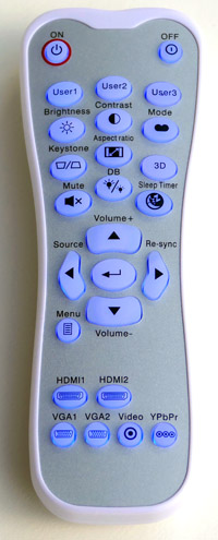 Optoma_HD200D_remote